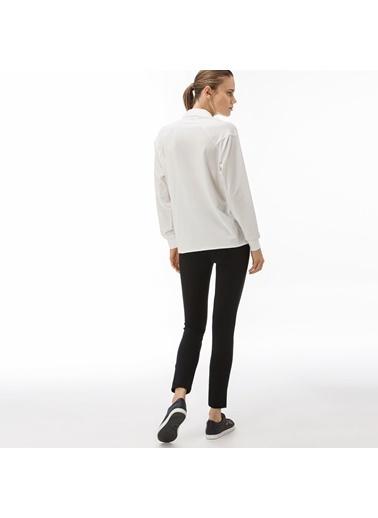 Lacoste Kadın Slim Fit Pantolon HF2041.41S Siyah